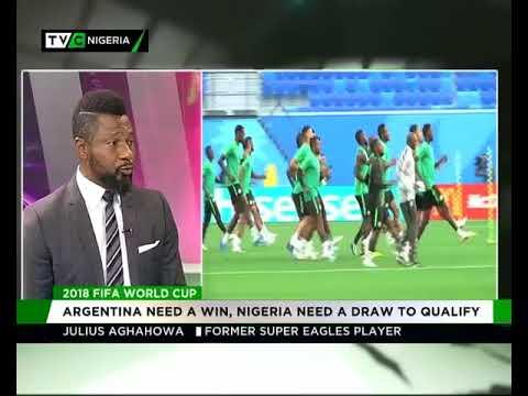 Julius Aghahowa speaks on Nigeria vs...