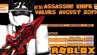 Roblox Assassin Value List 2019 Preuzmi