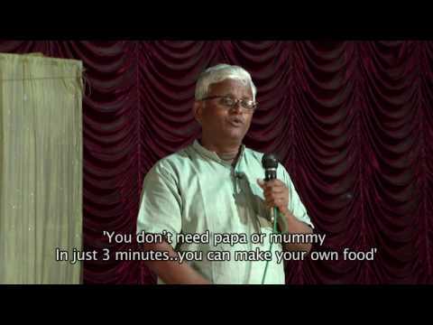 Dr KHADER's TALK - Telugu: with English SUBTITLES : 'WHAT ARE WE EATING'?