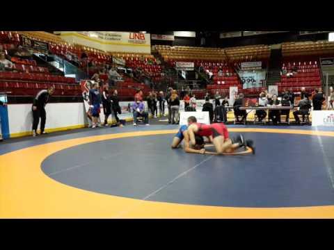 2016 Canadian Senior Championships: 70 kg Brock Munro vs. Raheem Rahamatulla