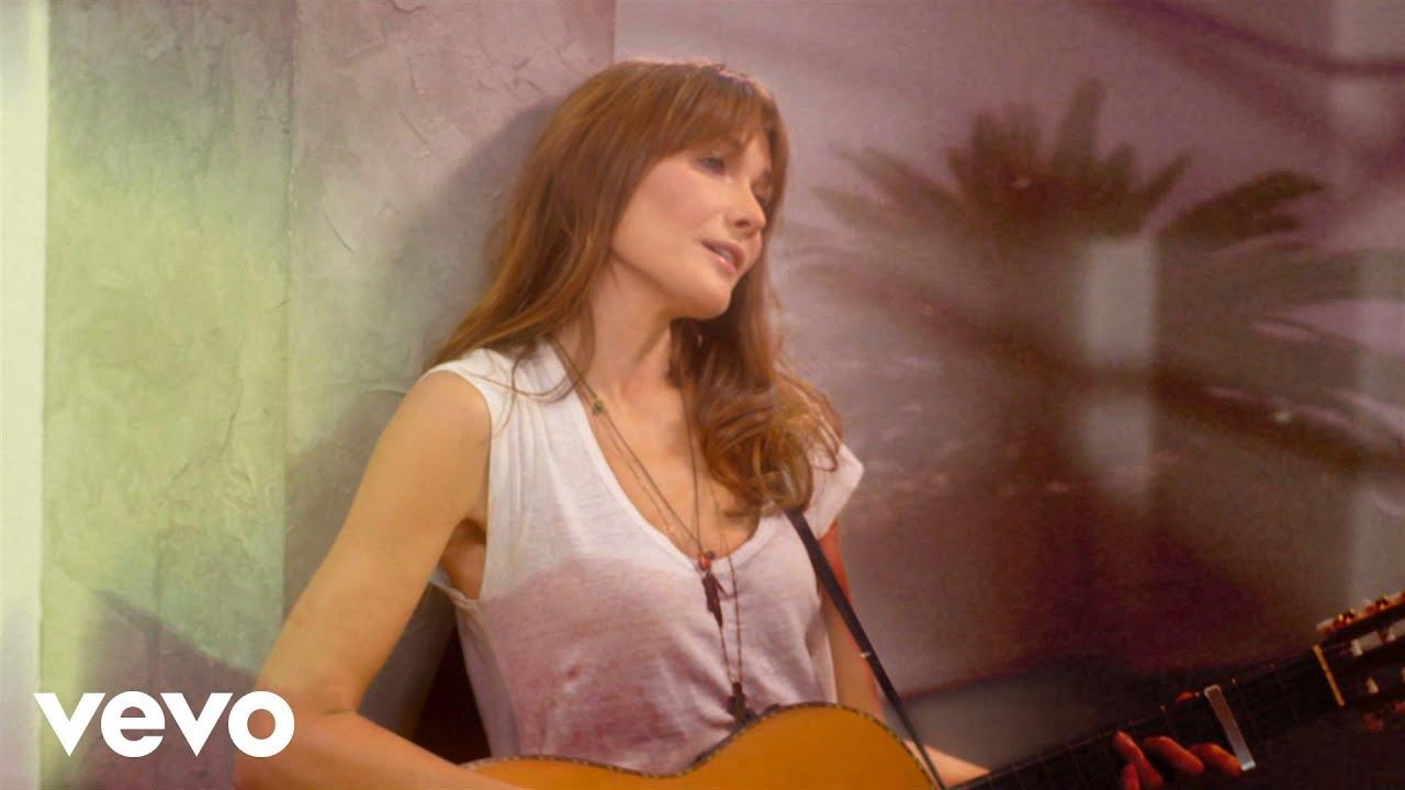 Carla Bruni - Chez Keith Et Anita (Official Music Video)