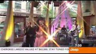 Paulini - Rough Day (Live on Sunrise January 2006)