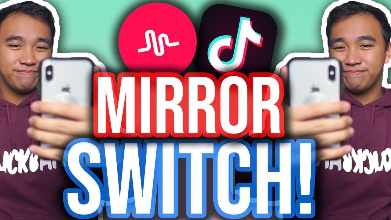Mirror Switch Trend Tutorial For Tiktok Ios Android Youtube