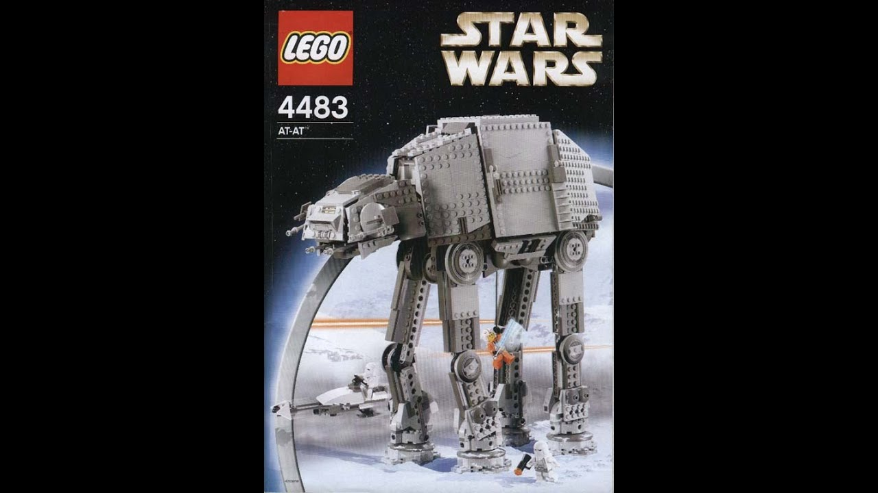 Lego 4483 Star Wars Classic Imperial At At Instruction Manual Youtube