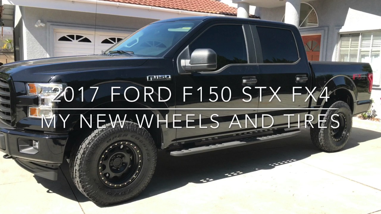 2017 Ford F-150 with 2.5 inch Pro Comp leveling kit ...