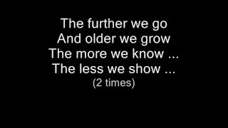 THE CURE - Primary  (lyrics on screen)