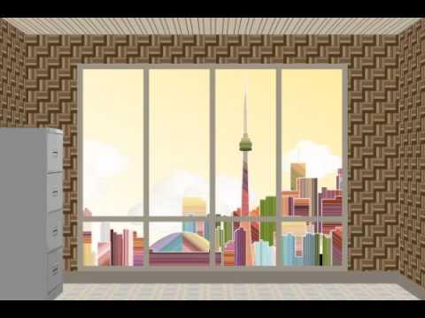 Looping Video Background Ruang Kantor