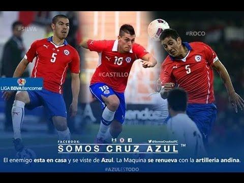 Los 3 fichajes de CRUZ AZUL que llegarán al finalizar la Copa América 2016