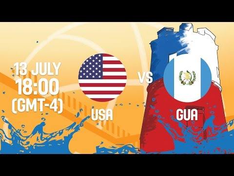 United States v Guatemala - Full Game - Group A - 2016 FIBA Americas U18 Women's Championship