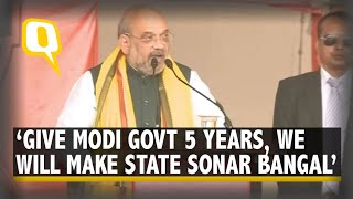 Home Minister Amit Shah Addresses BJP Rally in Kolkata As Workers Chant 'Goli Maaro'