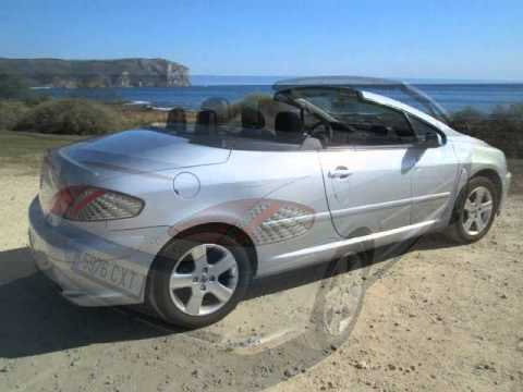peugeot 307 cc 1 6 for sale in spain for 5 995 youtube. Black Bedroom Furniture Sets. Home Design Ideas