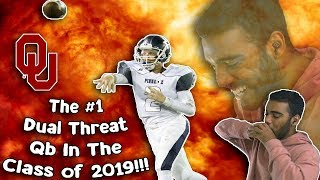 The #1 dual threat qb in the class of 2019!!!- spencer rattler highlights [reaction]