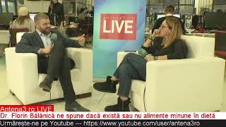 Baixar ANTENA3.RO LIVE. Medicul Florin Bălănică, despre alimentele minune