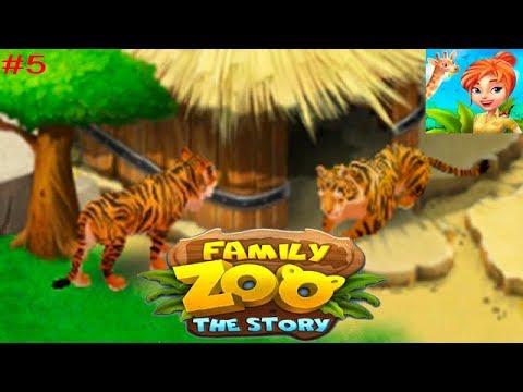 Family Zoo: The Story #5 Подружка для Тигра (уровни 31-40) История Семейного Зоопарка Детское Видео