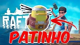 ACHEI O PATINHO DE BORRACHA!   Raft