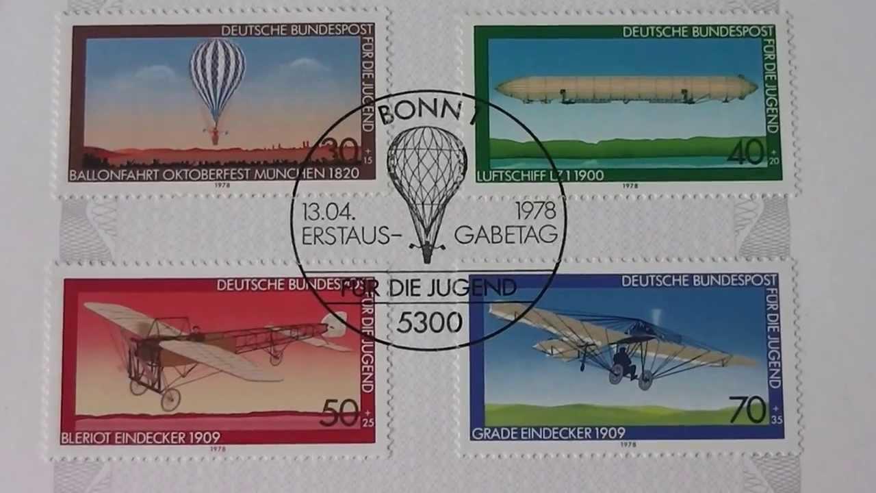 Old German Stamps Alte Deutsche Briefmarken Youtube