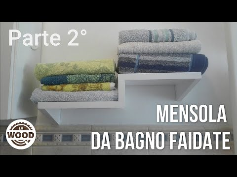 Mensola in legno FAI DA TE | parte 2 | DIY wooden shelf