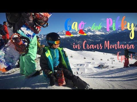 SKI Weekend in Crans Montana, Switzerland : เที่ยวสวิตเซอร์แลนด์ (เมืองครองส์มอนตานา)
