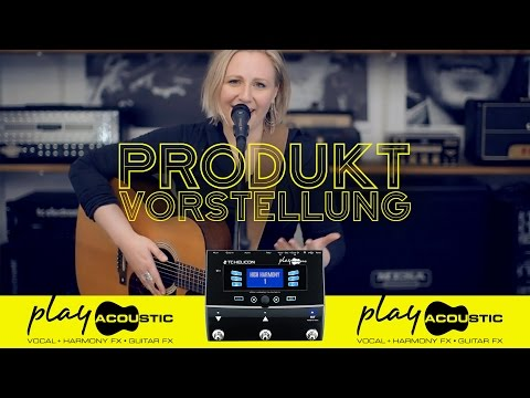 Play Acoustic   Vocals und akustische Instrumente – einfach traumhaft