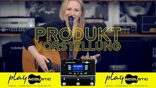 Play Acoustic | Vocals und akustische Instrumente – einfach traumhaft