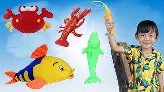 Trò chơi câu cá cho bé ❤ AnAn ToysReview TV ❤