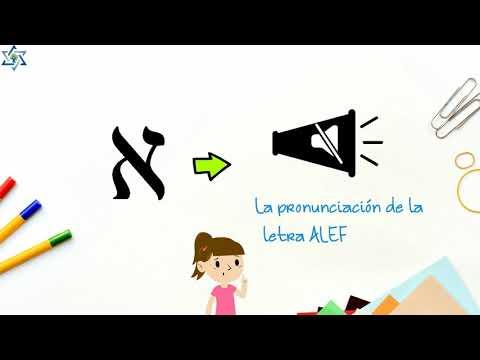 Letra Alef א para niños