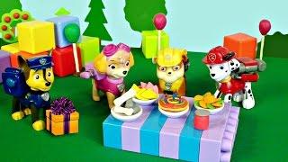 Щенячий Патруль - День рождение Маршала - Игры для детей
