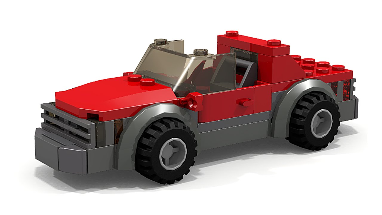 How To Make A Race Car Out Of Legos
