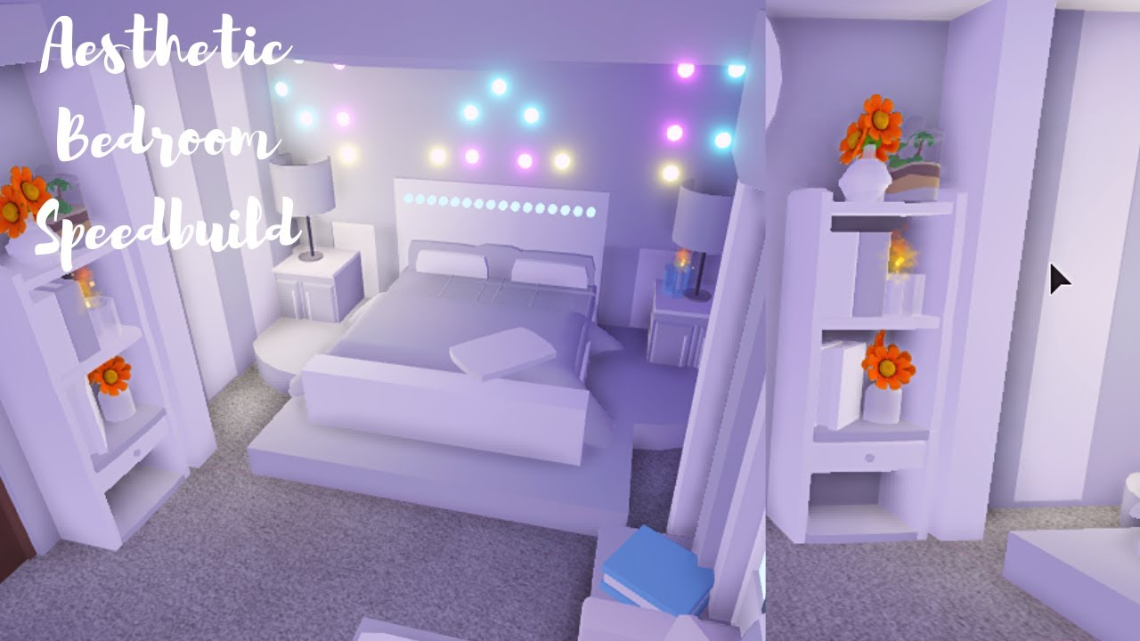 Aesthetic Bedroom Roblox Adopt Me Youtube