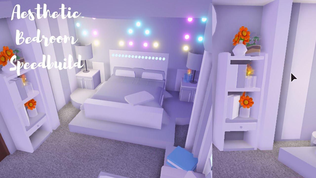Aesthetic Bedroom ♡ Roblox Adopt Me - YouTube on Room Decor Ideas De Cuartos Aesthetic id=37167