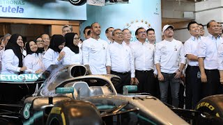 Lewis & Valtteri Celebrate Six F1 World Titles with PETRONAS!