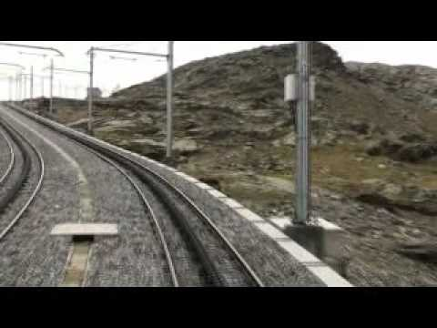 a train cab ride up to Gornergrat from Zermatt, Switzerland in August 2011