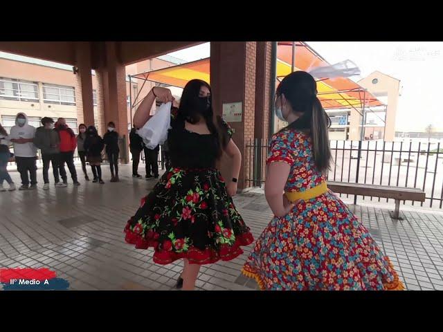 II°A Pumahue Chicauma realiza su baile del mes de la patria, representando el Centro con la Cueca