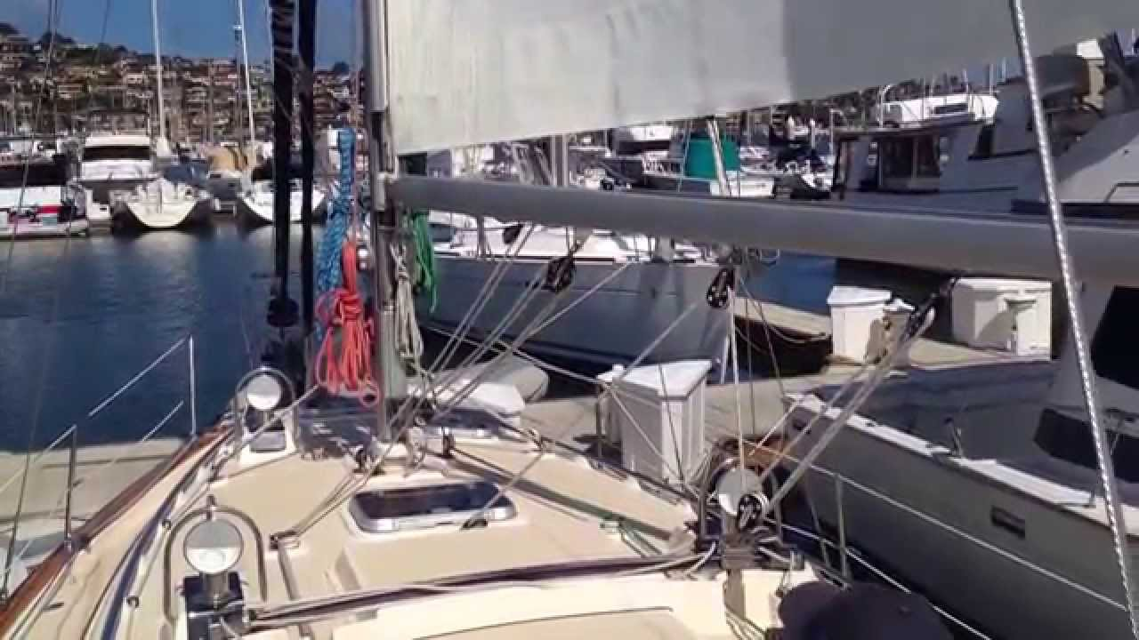 In Mast Furling Instruction Video