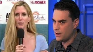 Ann Coulter Gets Ben Shapiro SPEECHLESS  with immigration  Statistic