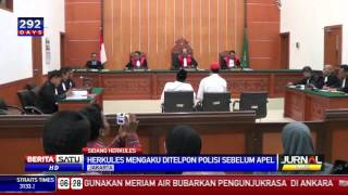 Hercules Kesal Apel Polisi Ikut Diatur Manajer Ruko