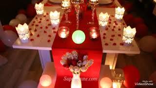 Muhteşem Romantik Bir Ortamda Sürprizler