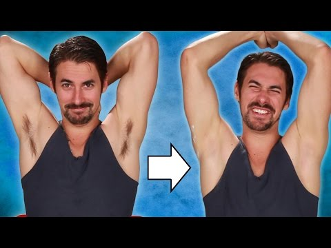 Thumbnail: Guys Shave Their Armpits For The First Time