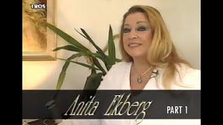 Anita Ekberg interview for De TV-show - part 1