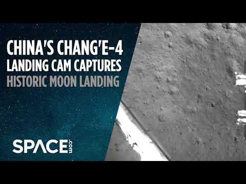 China's Historic Moon
