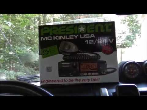 The best Prepping, Survival and Overlanding CB (President McKinley CB Radio)