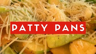 How to Prepare Patty Pans | Easy Vegetable Prep