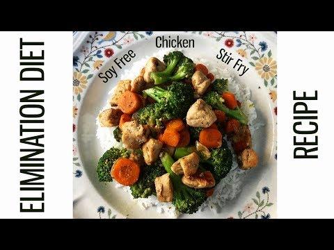 SOY-FREE CHICKEN STIR FRY | Elimination Diet Recipe