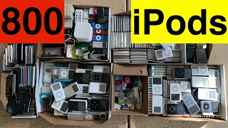 I Bought 800 iPods From an Electronics Recycler!!!