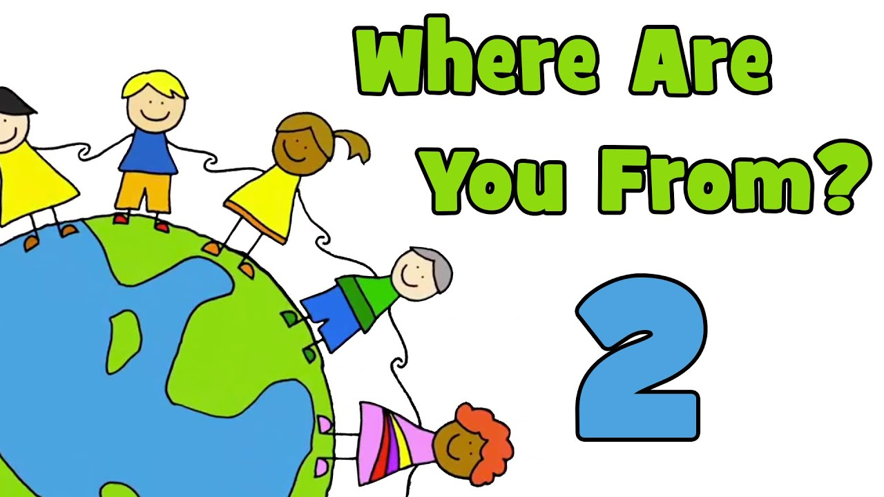 Where Are You From? PART 2 | Learn Countries of the World ...