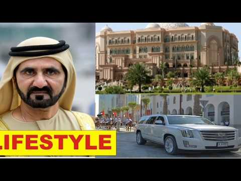 Внутри дворец Шейх Мухаммад Ал Мактум Король Дубай