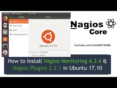 How to Install Nagios Monitoring 4 3 4 & Nagios Plugins 2 2