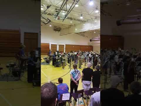 7th great class at Logan Fontenelle Middle School in Bellevue Nebraska