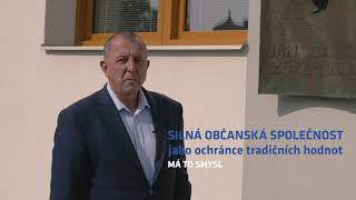 Má to smysl - Zdeněk Brož do Senátu