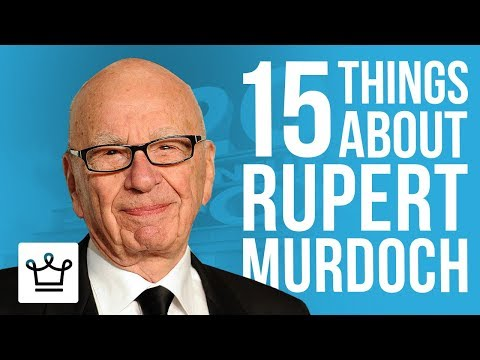 15 Things You Didn't Know About Rupert Murdoch